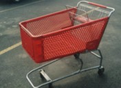 small shopping cart image